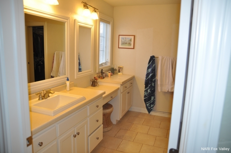 Residential Bathroom $25,000 to $50,000 - Before by Welhouse Construction Services, LLC