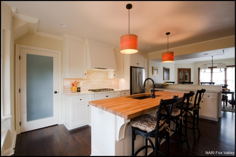 Residential Kitchen $60,001 to $100,000 - After by Welhouse Construction Services, LLC