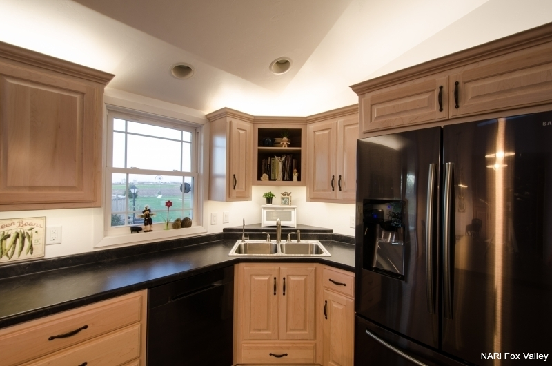 Residential Kitchen Under $30,000 - After by Welhouse Construction Services, LLC