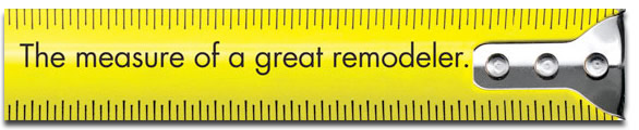 The measure of a great remodeler